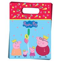 Купить Peppa Pig Пакет подарочный Пеппа-принцесса 6 шт, Росмэн