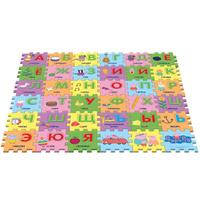 Купить Peppa Pig Коврик-пазл Учим азбуку с Пеппой, Росмэн, Развивающие коврики