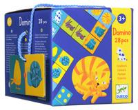 Купить Djeco Домино Цветные животные, Обучение и развитие