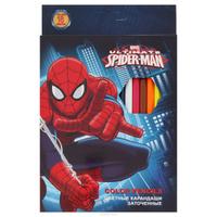 Купить Набор цветных карандашей, 18 шт. Spider-man Classic, Kinderline
