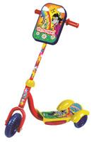 Купить 1TOY Самокат детский трехколесный Ну, погоди! цвет красный желтый, Solmar Pte Ltd