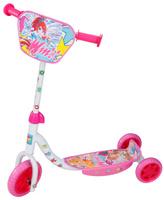 Купить 1TOY Самокат детский трехколесный Winx цвет розовый белый, Solmar Pte Ltd