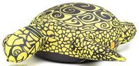 Купить Maxi Toys Мягкая игрушка-антистресс Черепашка Геля цвет желтый 43 см