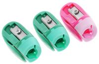 Купить Erich Krause Набор точилок Joy цвет розовый зеленый 3 шт, Чертежные принадлежности