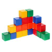 Купить Крошка Я Кубики цветные 20 шт 1200606, Развивающие игрушки