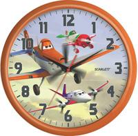 Купить Часы настенные Scarlett , диаметр 29 см. SC - WCD06PL