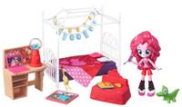 Купить My Little Pony Игровой набор с мини-куклой Пижамная вечеринка Пинки Пай B4911, Куклы и аксессуары