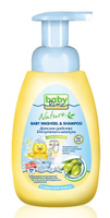 Купить BabyLine Nature Средство для купания и шампунь с оливковым маслом для детей с первых дней жизни 260 мл