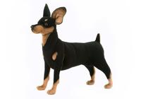 Купить Hansa Мягкая игрушка Собака цвергпинчер, Hansa Toys, Мягкие игрушки
