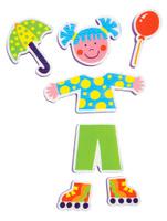 Купить Alex Игрушка для ванной Фигурки-стикеры Друзья, Alex Toys, Первые игрушки
