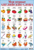 Купить Дрофа-Медиа Обучающий плакат Мои первые английские слова-2