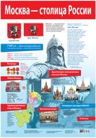 Купить Дрофа-Медиа Обучающий плакат Москва - столица России
