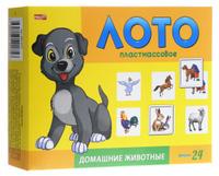 Купить Рыжий Кот Настольная игра Лото Домашние животные
