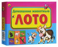 Купить Рыжий Кот Настольная игра Лото Домашние животные, Обучение и развитие