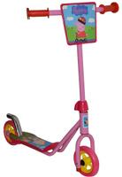Купить 1TOY Самокат двухколесный Peppa цвет розовый красный, Solmar Pte Ltd