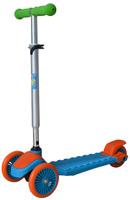 Купить 1TOY Самокат детский трехколесный цвет оранжевый голубой зеленый, Solmar Pte Ltd, Самокаты