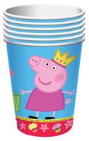 Купить Peppa Pig Стакан Пеппа-принцесса 210 мл 6 шт, Сервировка праздничного стола