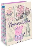 Купить Peppa Pig Пакет подарочный Страна чудес Пеппы 35 х 25 х 9 см