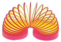 Купить Slinky Пружинка Neon цвет красный желтый