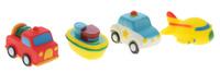 Купить Alex Toys Набор игрушек для ванной Транспорт 4 шт, Первые игрушки
