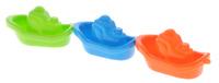 Купить Alex Toys Набор игрушек для ванной Лодочки цвет оранжевый синий салатовый 3 шт
