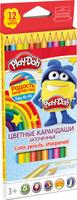 Купить Play-Doh Набор цветных карандашей 12 цветов