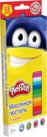 Купить Play-Doh Краска пастель масляная 12 цветов, Мелки и пастель