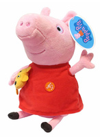 Купить Peppa Pig Мягкая игрушка Пеппа 30 см