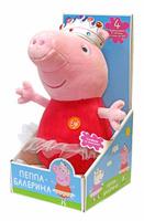 Купить Peppa Pig Мягкая озвученная игрушка Пеппа балерина 30 см, Мягкие игрушки