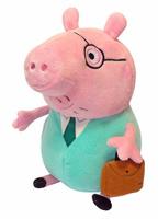 Купить Peppa Pig Мягкая игрушка Папа Свин с кейсом 30 см