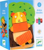Купить Djeco Пазл для малышей Деревянные зверюшки, Djeco Sarl