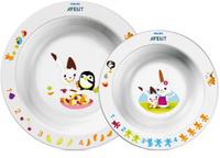 Купить Philips Avent Глубокая тарелка 230 мл, глубокая тарелка 450 мл SCF708/00