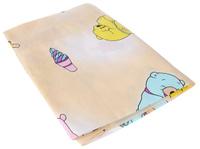 Купить Фея Простыня на резинке Мишки цвет желтый 60 см х 120 см, Постельное белье