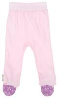 Купить Ползунки для девочки Lucky Child Цветочки, цвет: светло-розовый. 11-4. Размер 80/86, 12-18 месяцев, Одежда для новорожденных