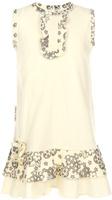 Купить Платье для девочки Lucky Child Цветочки, цвет: экрю. 11-61. Размер 80/86, 12-18 месяцев, Одежда для новорожденных