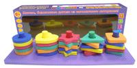 Купить Робинс Настольная игра Мой первый развивающий набор-сортер Формы и цвета