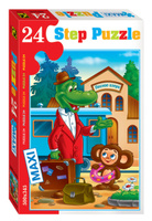 Купить Step Puzzle Пазл для малышей Чебурашка 70006, Степ Пазл ЗАО (Россия)