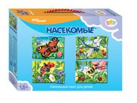 Купить Step Puzzle Пазл для малышей Насекомые 4 в 1, Степ Пазл ЗАО (Россия)