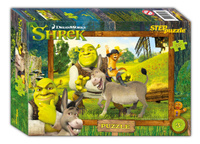 Купить Step Puzzle Пазл для малышей Shrek, Степ Пазл ЗАО (Россия)