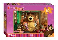 Купить Step Puzzle Пазл для малышей Маша и Медведь 91211, Степ Пазл ЗАО (Россия)