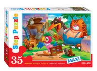 Купить Step Puzzle Пазл для малышей Попугай Кеша 91304, Степ Пазл ЗАО (Россия), Обучение и развитие