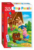 Купить Step Puzzle Пазл для малышей Винни Пух 91306, Степ Пазл ЗАО (Россия)