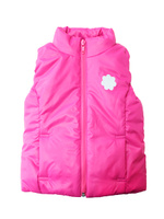 Купить Жилет для девочки КотМарКот, цвет: розовый. 24901. Размер 116/122, 6-7 лет, Одежда для девочек