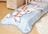 Купить Плед Tamerlan , нестриженый, цвет: голубой, 110 х 140 см. 61312, ТД Текстиль