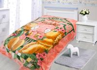 Купить Плед Tamerlan , нестриженый, цвет: розовый, 110 х 140 см. 78137, ТД Текстиль