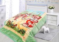 Купить Плед Tamerlan , нестриженый, цвет: зеленый, 110 х 140 см. 78140, ТД Текстиль, Пледы и покрывала