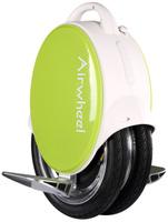 Купить Airwheel Q5, White Green двухколесный гироцикл (батарея Panasonic 170 Вт/ч), Электротранспорт