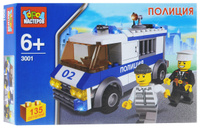 Купить Город мастеров Конструктор Полиция KK-3001-R, Shantou City Daxiang Plastic Toy Products Co., Ltd, Конструкторы