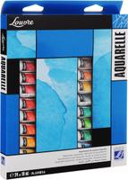 Купить Набор акварельных красок Lefranc & Bourgeois Louvre , 10 мл, 24 шт, Краски