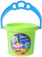 Купить Stellar Ведро цвет салатовый 0, 8 л, Игрушки для песочницы